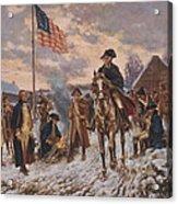 George Washington At Valley Forge Acrylic Print