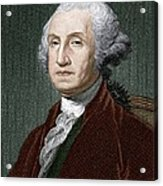 George Washington, First Us President Acrylic Print