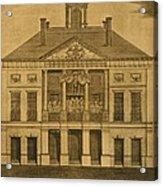 George Washingtons First Inauguration Acrylic Print