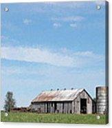 George's Barn Acrylic Print