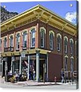 Georgetown Colorado On Canvas Acrylic Print