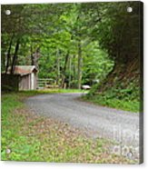 Georgia Mountain Road Acrylic Print
