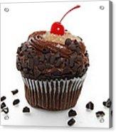 German Chocolate Cupcake Acrylic Print