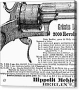 German Revolver, 1880 Acrylic Print