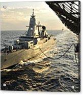 German Sachsen-class Frigate Hessen Acrylic Print