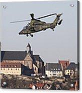 German Tiger Eurocopter Flying Acrylic Print