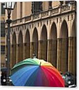 German Umbrella Acrylic Print