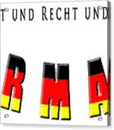 Germany Acrylic Print