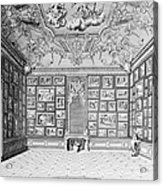Germany: Gallery, 1731 Acrylic Print