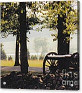 Gettysburg Artillery Acrylic Print