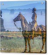 Gettysburg Battlefield Acrylic Print