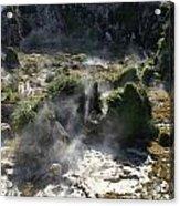 Geyser Basin Acrylic Print