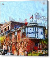 Ghirardelli Chocolate Factory San Francisco California . Painterly . 7d14093 Acrylic Print