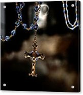 Ghost Of A Rosary Acrylic Print