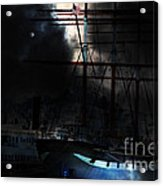 Ghost Ship Of The San Francisco Bay . 7d14032 Acrylic Print