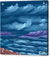 Ghost Sisters Cove Acrylic Print
