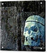 Ghost Skull Acrylic Print