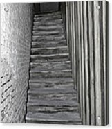 Ghost Town Stairs Bodie California Acrylic Print