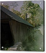 Ghostly Cover Acrylic Print