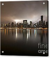 Ghostly Skyline Acrylic Print