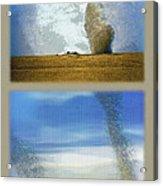 Giant Dust Devils Diptych Acrylic Print
