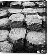 Giants Causeway Stones Northern Ireland Acrylic Print