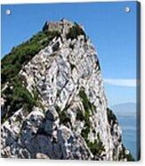 Gibraltar's Moorish Castle Acrylic Print