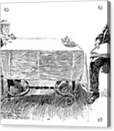 Gibson: Breakfast, 1898 Acrylic Print