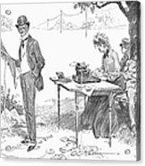 Gibson: Businessman, 1903 Acrylic Print