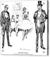 Gibson: Drawings, 1897 Acrylic Print