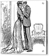 Kiss, 1903 Acrylic Print