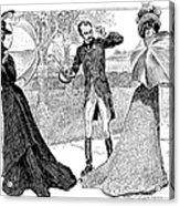 Gibson: Predicament, 1899 Acrylic Print