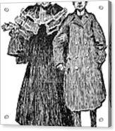 Gibson: Quarrel, 1906 Acrylic Print