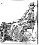 Gibson: Woman, 1898 Acrylic Print
