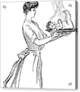 Gibson: Woman, 1903 Acrylic Print
