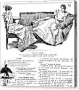 Gibson: Women, 1897 Acrylic Print