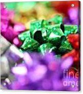 Gift Bows Close Up Acrylic Print