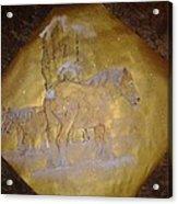 gilded Brabant Acrylic Print