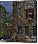 Gillette Castle Exterior Hdr Acrylic Print