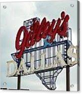 Gilleys Dallas Acrylic Print