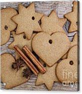 Gingerbread Acrylic Print