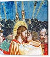 Giotto: Betrayal Of Christ Acrylic Print