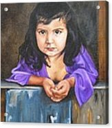 Girl From San Luis Acrylic Print