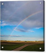 Give Me A Double Acrylic Print by Christy Patino
