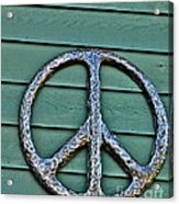 Give Peace A Chance Acrylic Print