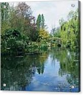 Giverny Gardens, Normandy Region Acrylic Print