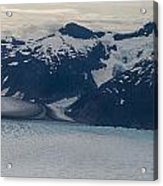 Glacial Panorama Acrylic Print
