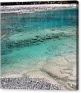 Glacial Pool Inn South New Zealand Acrylic Print