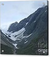 Glacier Bay Slopes Acrylic Print