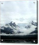 Glacier Mountain Acrylic Print